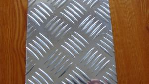AA5052 Five Bars Embossed Aluminum Plate/Sheet