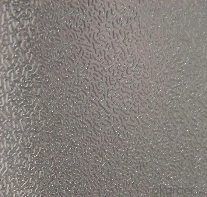 Textured Aluminum Sheet Tread Plate , Five Bars Embossed Aluminum Sheet