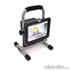 LED Flood Light Replacement Halogen Lamp Chargable