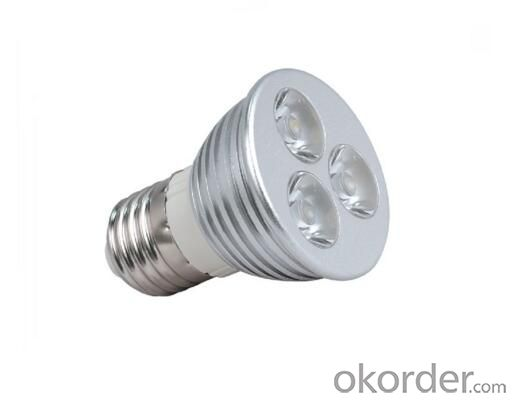 E27 1-5W LED Spotlight with CE for INDOOR USAGE