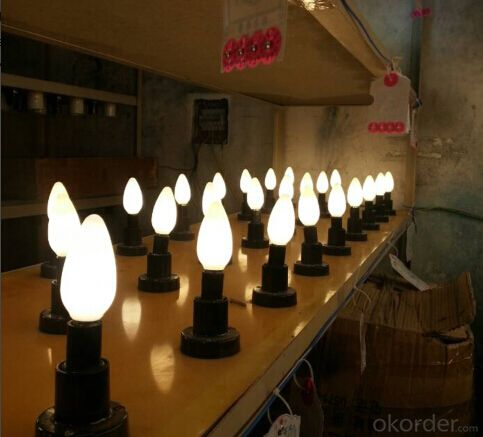 LED  Bulb Light  High quality led candle E14 6w TUV-GS, CE, RoHs Certification