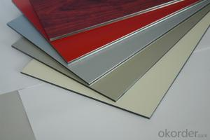 Decoration wall panel interior aluminum composite cladding material