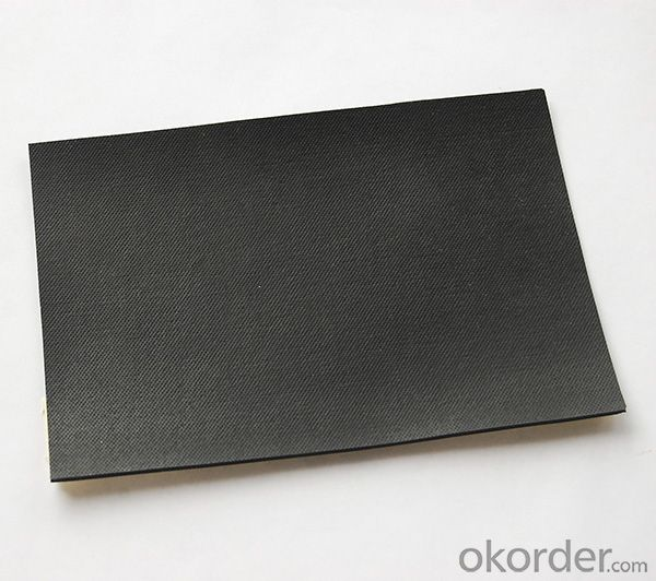 EPDM Rubber Waterproof Membrane with Fabric Surface