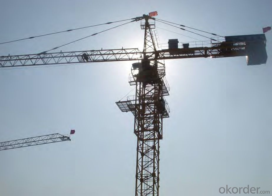 Tower Crane Manufacturer : Buy tower crane safety construction machinery from china