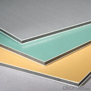 Brush Finish Aluminum Plastic Composite Panel Aluminum Compoite Sheet