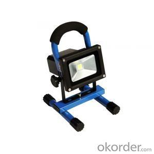 LED Flood Light 10W Premium Quality Chargeable