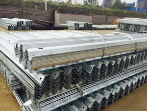 Galvanized Highway Guard Rail / Road Safety Barrier