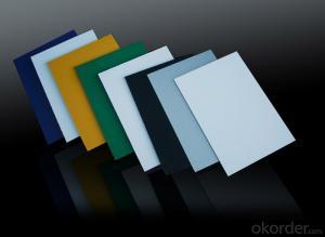 Silver Color PVDF Aluminium Composite Panels for Decoration