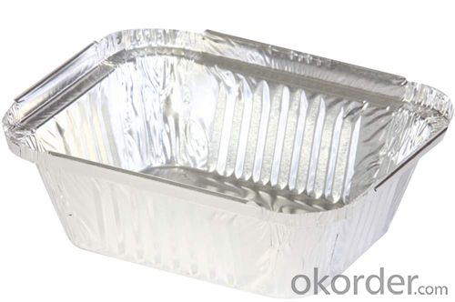 Aluminium Plain Foil Jumbo Roll For Food Tray Application