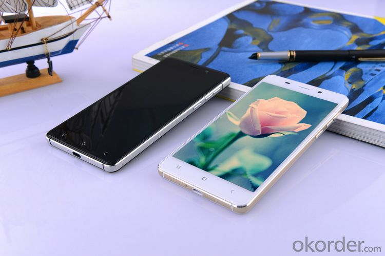 Fingerprint 1GB/8GB 5.5 inch Quad Core Smart Mobile Phone