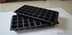 Plastic Seed Plug Tray with 32/50/72/98/104/105/128/200/242/288/406/512 Cell
