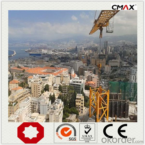 Tower Crane 8 Ton Max Capacity TC5516 New Condition