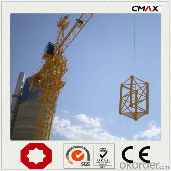 Tower Crane TC7021 12 Ton VFD PLC Famous