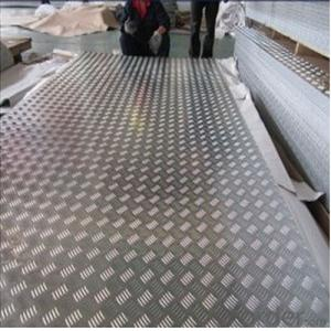 Five Bar 3003 Checker Aluminum Plate for Anti-Skidding