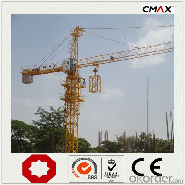 Tower Crane TC6024 60M VFD Technical Control