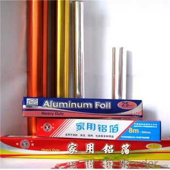 8000 Series Aluminium Foil for Kitchen Food Wrapping