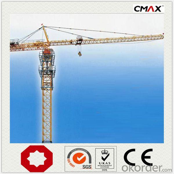 Tower Crane 10 Ton VFD PLC Control Mechnical