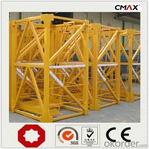 Buy Tower Crane Max Lifting Capacity 10Ton New Price,Size