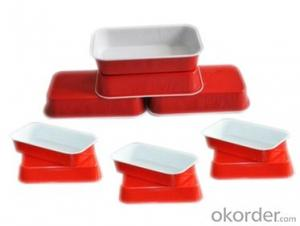 LUBRICATED CONTAINER FOIL IN GOOD QUALITY