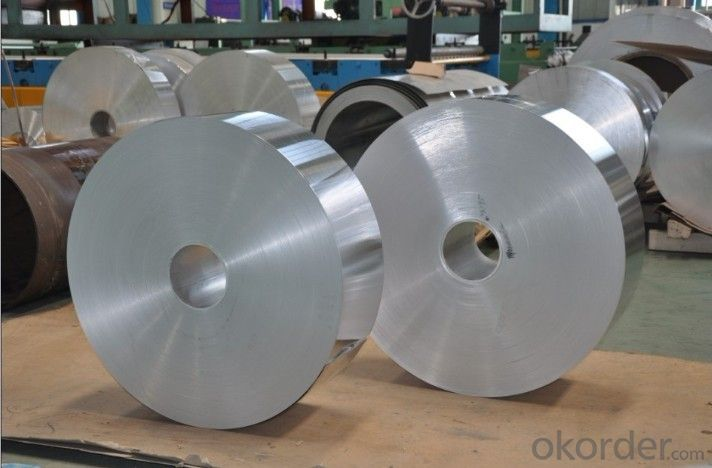 Aluminium Cold Rolled Coil Thick Foil from China