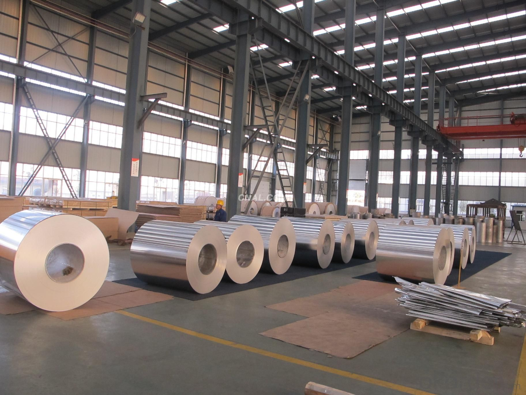Prepainted Aluminum Coil ans Sheets  for Manufacturing Gutter