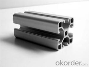 Aluminium section profiles for doors and windows