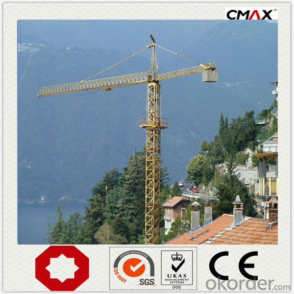 Tower Crane 6 Ton QTZ62 56M Length Boom Sale