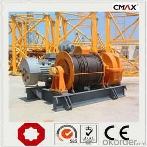 Tower Crane TC6016 10 Ton Max Lifting Capacity