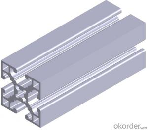 Aluminium T-profile for Windows and Doors Instalation