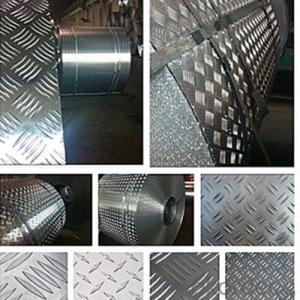 Precutted Checker Aluminium Plain Plate for Door