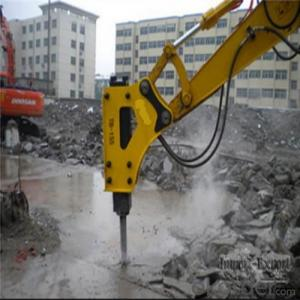 ZX55 ZX60 Hydraulic Breaker Excavator Used Box Silence Type
