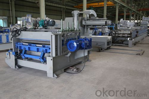 construction corrugated Roof Panel Forming Machine