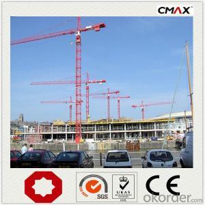 Tower Crane 6 Ton QTZ63 CMAX Brand for Sale