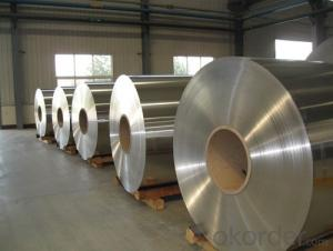 Aluminium Cast Slab not Alloyed in Coil Form