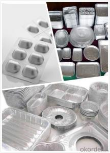 Aluminum foil take away food containers NTP- ALFC063B