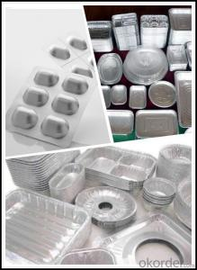 Aluminum Sheet in Moter with Different Specification