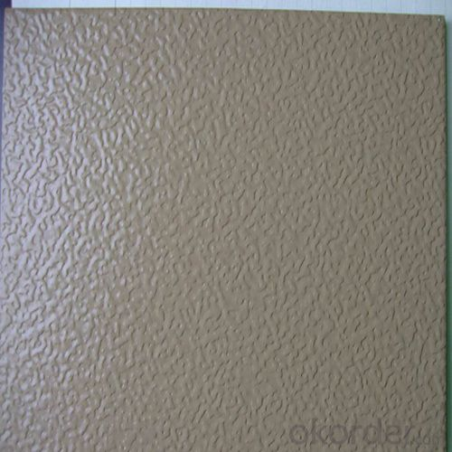 Aluminium Stucco Embossed Plate with High Quality