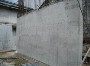 Easy Removal Plastic Formwork Wall Formwork