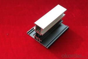Air Handling Unit Case Aluminum Extrusion Profile With Thermal Break