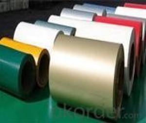 3003 H24 PE and PVDF Color Coated Aluminum Coil for Aluminum Composite Panel