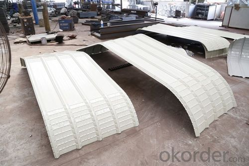 trapezoidal corrugated Roof Panel Forming Machine 1100mm