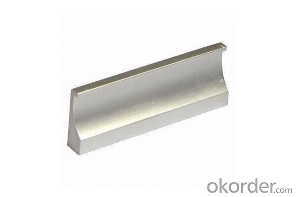 Anodize SS Brush Polished Modular Aluminum Profile for Kitchen Cabinet Door Frame and Handles