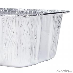 christmas aluminum foil for food container 8011