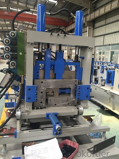 construction corrugated Roof Panel Forming Machine 1220mm