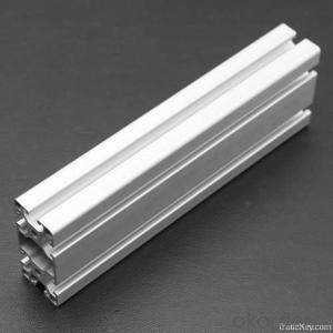 Silver Finish Anodized Alloy Aluminum Profile for Glass Door Design