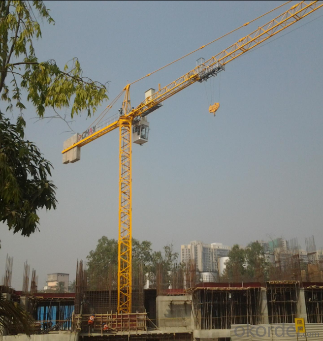 TCT5013 (6T) Topless Tower Crane From CNBM