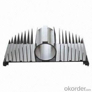 Aluminum Heat Sink Aluminum Alloy Profile for Power Amplifier
