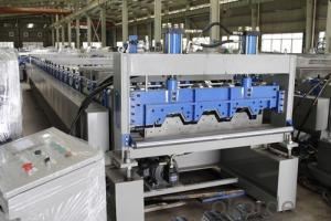 microwave corrugated Roof Panel Forming Machine 1250mm