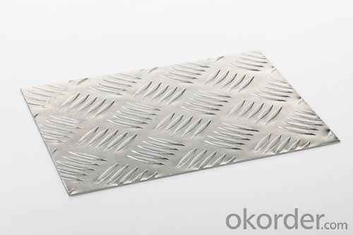Embossed Aluminium Sheets Treading Plates