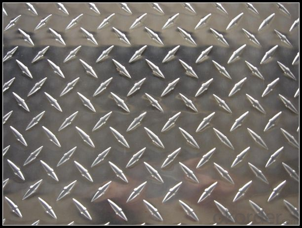EN AW-5754 Aluminium Treadplate for Making Caravans